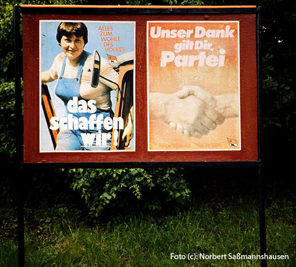 DDR das schaffen wir. Foto Norbert Saßmannshausen